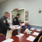 Lawrence Police Help Serve Congregate 016