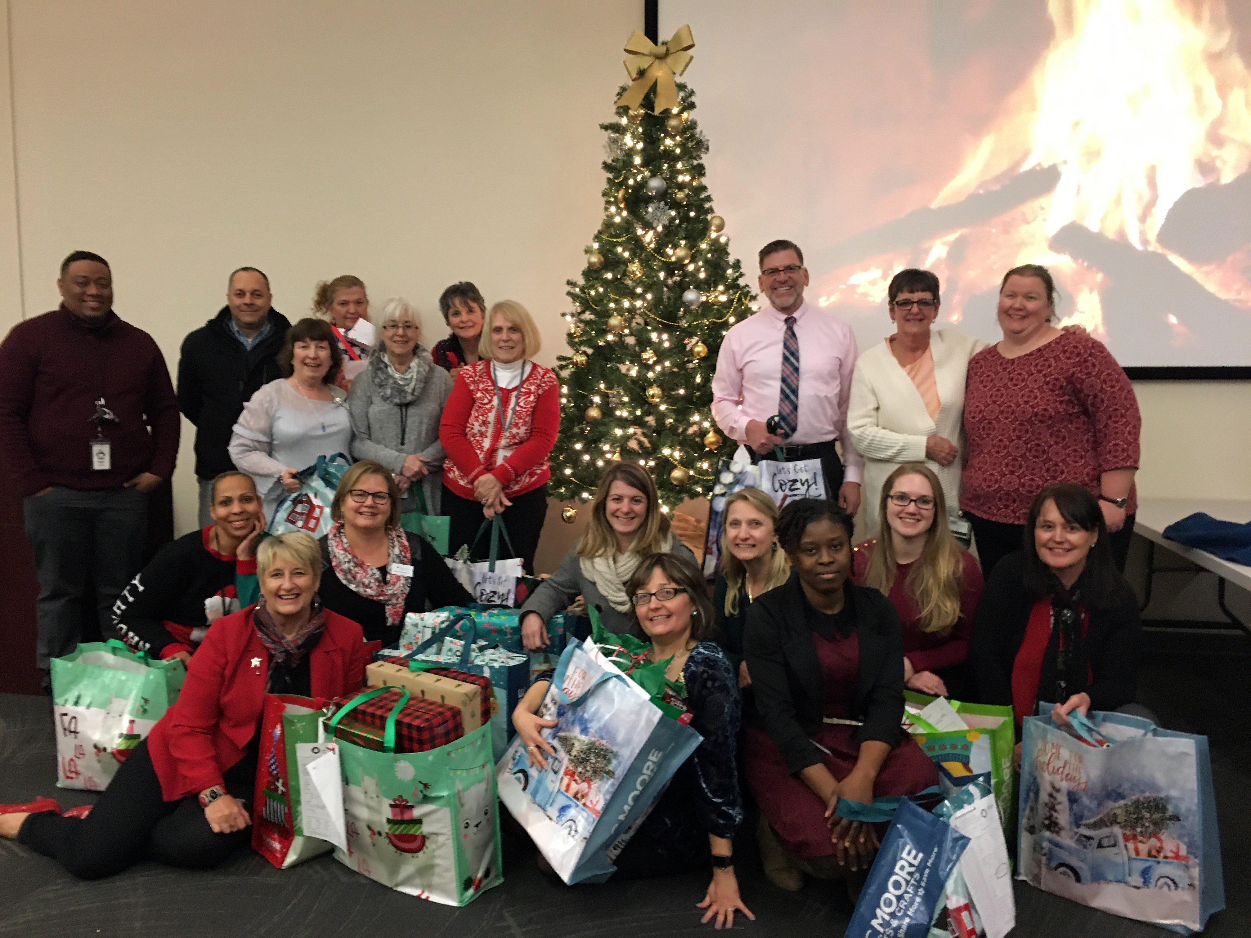Pfizer Giving – Staff with Jamie