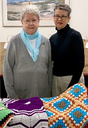 Nancy and Katherine Frey
